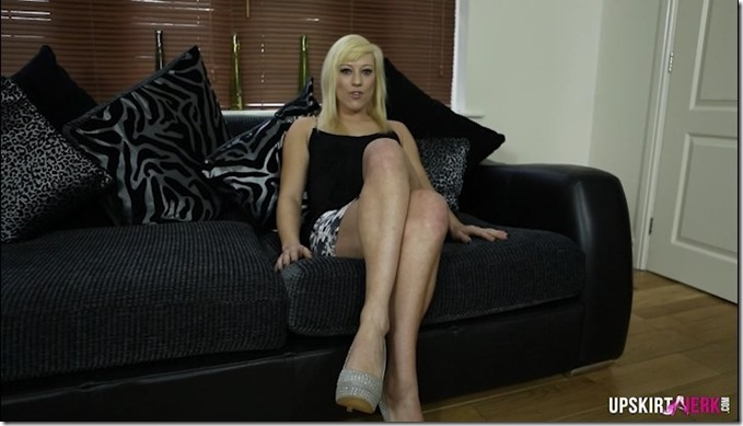 Blonde Brit Axa Jay will fuck you hard in cyber space